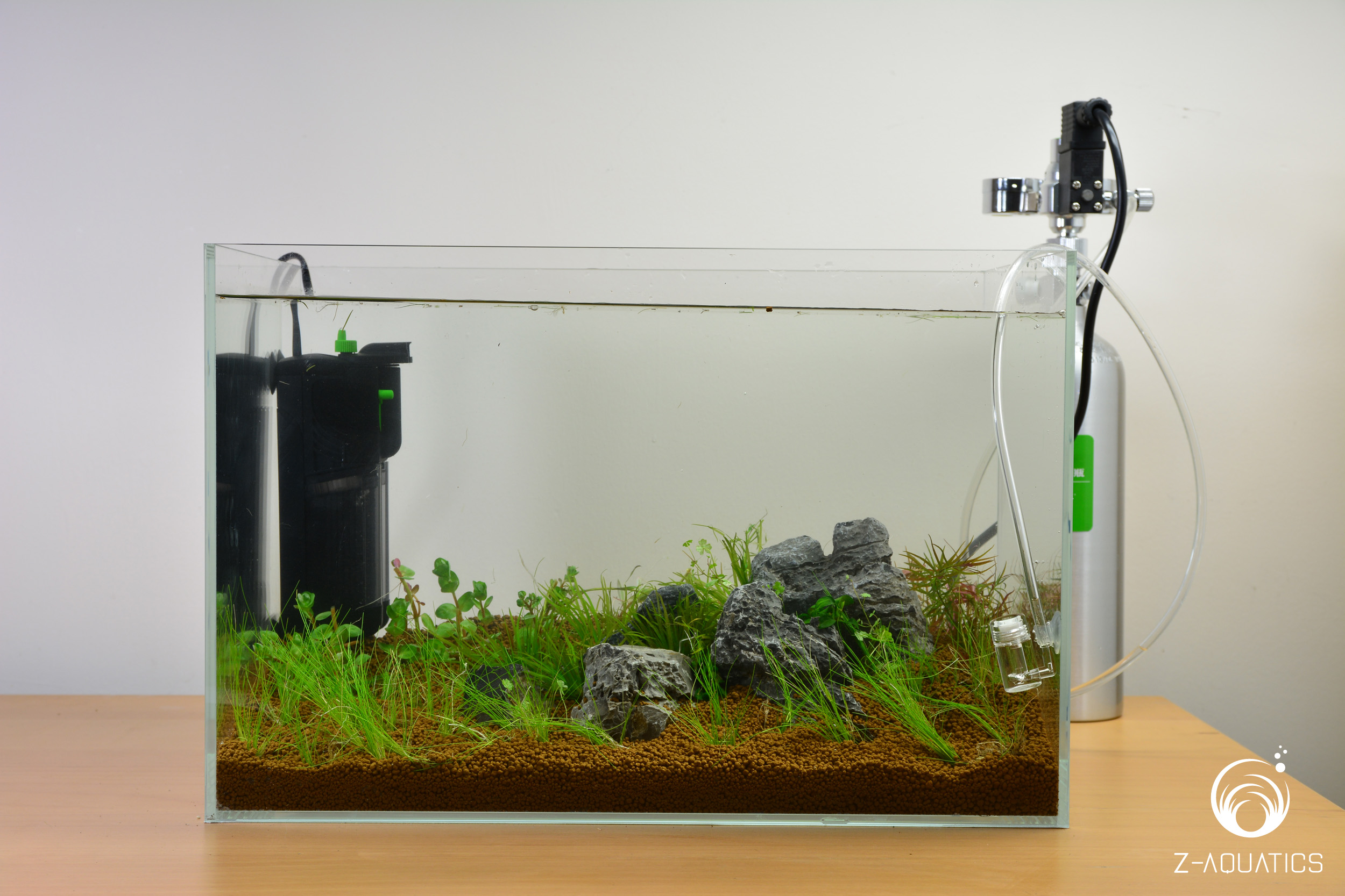 A guide for setting up a basic planted aquarium z aquatics for Setting up a fish tank